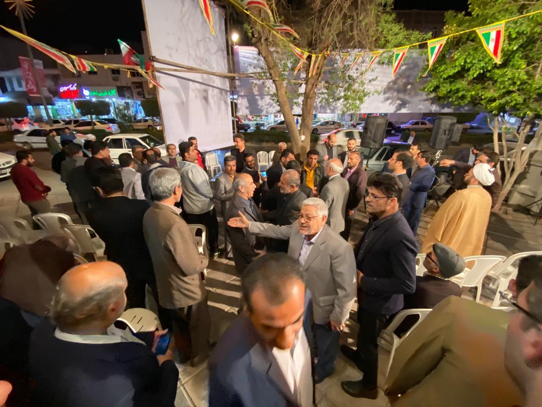 حضور پرشور مردم در ستاد انتخاباتی جمیری